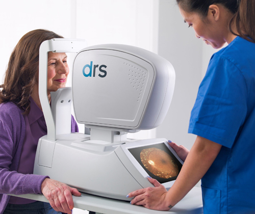 iCare DRS automated digital retinography system